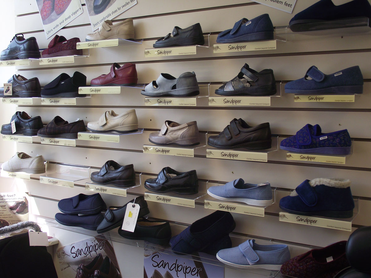 c86379ceaac We stock the full range of Sandpiper Wide Fitting shoes in our stores - you  can also request a copy of the latest 52 Page Sandpiper Catalogue to browse  in ...